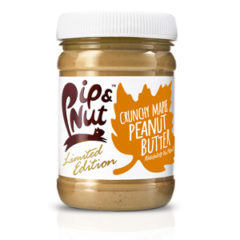 Crunchy Maple Peanut Butter