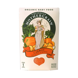 Quinola Mothergrain - Carrot and Red Lentil
