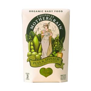 Quinola Mothergrain - Peas and Spinach