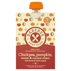 Babease – Chickpea, Pumpkin, Tomato & Coconut Cream with Herbs & Mild Masala