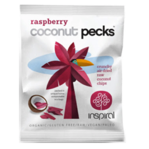 Inspiral – Raspberry Coconut Pecks