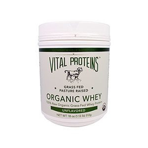 Vital Proteins Organic Pasture-Raised Grass Fed Whey Protein