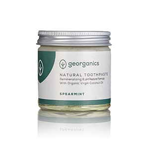Georganics Natural Remineralising Toothpaste - Spearmint