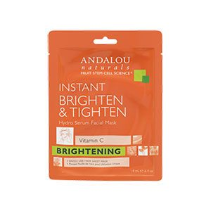 Andalou Brighten & Tighten Sheet Mask
