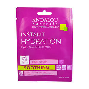 Andalou Instant Hydration Sheet Mask