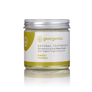 Georganics Sweet Fennel Toothpaste