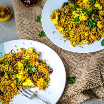 Quinoa with Curried Cauliflower