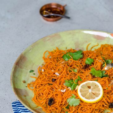 Moroccan Carrot Noodle Salad